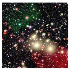 Cumulo galáctico en la constelación de Perseo (Hubble, 2012)