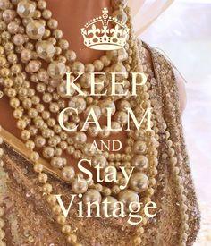 Stay vintage