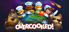 Overcooked is a chaotic couch co-op cooking game for one to four players. Working as a team, you and your fellow chefs must prepare, cook and serve up a variety of tasty orders before the baying customers storm out in a huff. Games Gratis, Elite 4, Playstation Plus, The Escapists, Storm Out, Humble Bundle, Free Pc Games, Cooking Games, Cooking Steak