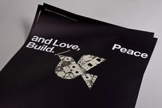 Peace and Love, Build.