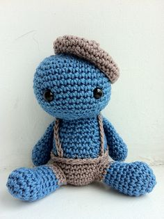 Horge - crochet creature 4 by snipsnaphappy made Ali