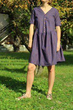 Home made by BRUNEHILDE - Caroline - republique du chiffon Sewing, Simple, Casual, Dresses, Fashion, Gowns, Children, Tricot, Projects
