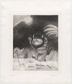 Where the Wild Things Are!    Maurice Sendak's unreleased drawings