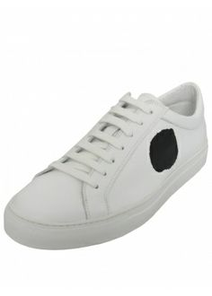 c560df61c73b4 COMME DES GARCONS ERIK SCHEDIN CIRCLE SNEAKERS WHITE £215.00  sneakers   trainers