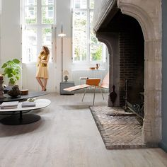 Rough grey oak oiled, planks | Inspiring interior | Laminate, wood and vinyl floors