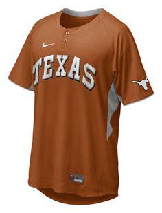 Texas Longhorns Nike Dri-Fit Baseball BP Jersey