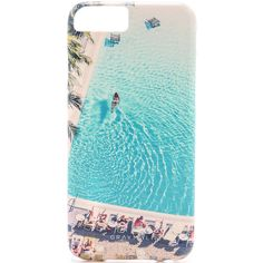 Gray Malin The Swimming Pool iPhone 6 Case ($50) ❤ liked on Polyvore featuring accessories, tech accessories, phone, phone cases, cases, phonecase's et multi