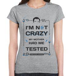 Tshirt de Big Bang Theory Sheldon Cooper Le sain par TeeDunk