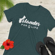 Guam Islander for Life Shirt with Guam Seal, Chamorro Shirt, Guamanian Shirt, Short-Sleeve T-Shirt