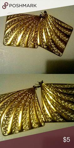 Gold earrings Gold earrings Jewelry Earrings