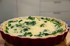 Slaný koláč se špenátovou náplní — Vše o vaření — Česká televize Pizza, Quiche, Mashed Potatoes, Cheesecake, Muffin, Food And Drink, Pudding, Vegetarian, Vegetables