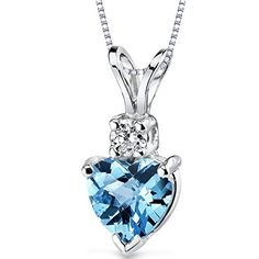 Blue Topaz Pendants and Jewelry Sets Are Perfect Gifts