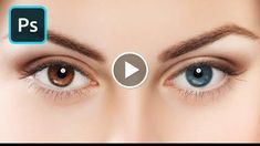 Change Eye Color in Photoshop 2 Minute Tutorial http://videotutorials411.com/change-eye-color-in-photoshop-2-minute-tutorial/ #Photoshop #adobe #lightroom #graphicdesign #photography