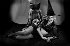Classic Classy Halloween Pin Up