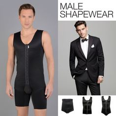 MACOM for him. A range of garments designed for all men. From top to full body, with or without surgery, with two choices of colours. #madebyMACOM #compressiongarments #shapewear #maleshapewear #slimming #beauty #men #forhim #surgey