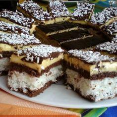 Czech Desserts, No Bake Desserts, Dessert Recipes, Pineapple Recipes, Foods With Gluten, Chocolate Peanut Butter, Chocolate Desserts, Bread Baking, Coco