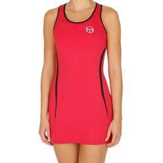 Sergio Tacchini Eva Dress Women - Red, Black
