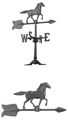 Weathervanes 20512: Whitehall Products Horse Accent Weathervane, 24-Inch, Black New -> BUY IT NOW ONLY: $32.89 on eBay!