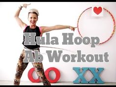 5 minute Hula Hoop Workout - How I Eat Chocolate Everyday and Stay in Shape - YouTube