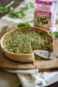 Gluten Free Fine Herbes Quiche | Bob's Red Mill #MeatlessMonday