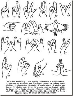 Popular Satanic Hand Signals - Please, familiarize yourself.