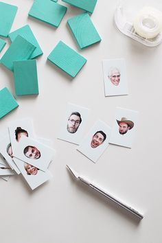 How To: Personalized Guess Who? Inspired Board Game