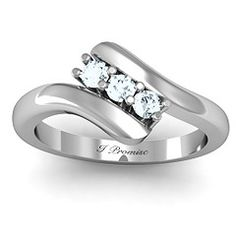 """I like the """"i promise"""" inside... for a purity ring! or a promise ring!"""