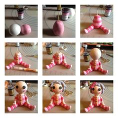 Lalaloopsy cake topper step by step tutorial by laylah22.deviantart.com on @deviantART