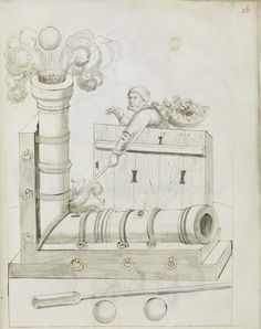 Ethnographic Arms & Armour - Brilliant Minds Neded: a Multi Barrel Illustration of 1511