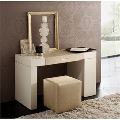 diamond modern contemporary designer dressing table vanity unit by Rossetto
