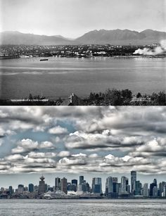 Then: A century ago, Vancouver was a modest coastal town. Now: Now: Thanks to a unique approach to urban planning, mixed-use high-rises dominate the skyline.