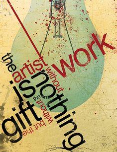 30 Typografie-Poster, die Buchstaben zur Kunst erheben – Teil 2 | print24 News & Blog