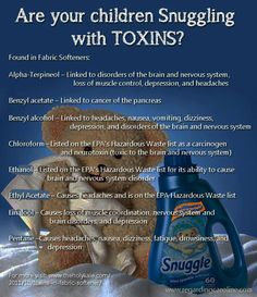 Great recipe alternatives to toxic fabric softeners    *This sight has tons of DIY healthy cleaning recipes and ideas!!*