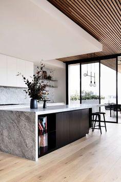 Interior Design Minimalist, Interior Design Kitchen, Home Design, Design Ideas, Interior Modern, Kitchen Designs, Modern Interiors, Interior Decorating, Coastal Interior