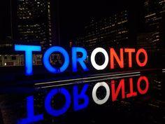 Toronto Sign in Toronto, Ontario, Canada ~John Tory