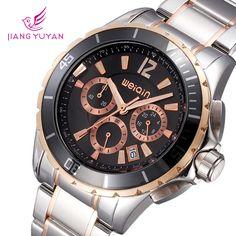 Часы наручные хронограф стильные
