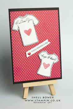 Shell Bower Independent Stampin' Up! Demo. Custom Tee bundle.