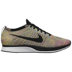 Nike Flyknit Racer - Men's SOLD OUT EVERYWHERE BRAND NEW. Color : Dark Grey/ Black/ Blue Glow/ Pink Foil. WIDTH: D- Medium. Men's size 8.5 and 8. OPEN TO OFFERS 👍🏽👍🏽👍🏽 Nike Shoes Sneakers