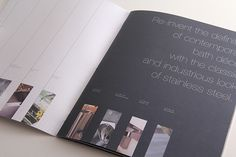 Product Brochure - Neo-Metro by Dennis Purcell, via Behance