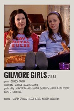 Girl Posters, Room Posters, Poster Wall, Poster Prints, Iconic Movie Posters, Minimal Movie Posters, Minimal Poster, Gilmore Girls Poster, Series Poster