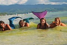 Mermaid School in the Philippines ~i feel like this should go under multiple boards i have, but i think i'll just let it sit here lol Mermaid School, Swimming Classes, Mermaid Cove, Mermaid Photos, Training Classes, Before I Die, Oh The Places You'll Go, How To Look Pretty, Philippines