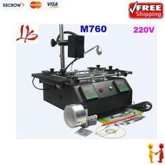 455.00$  Buy now - http://alizhj.worldwells.pw/go.php?t=1659863518 - Freeshipping! Smart BGA Rework station BGA IR M760,IR M760 for ps3,laptop,xbox360 BGA repair system,BGA machine with accessories