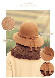 envío libre Thantrue Vino cúpula de lana otoño sombrero y flores de invierno sombreros del cubo de la mujer billycan sombrero rojo de invierno en Sombreros de cubo de Moda y Complementos en AliExpress.com | Alibaba Group