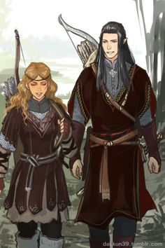 Haleth and Caranthir