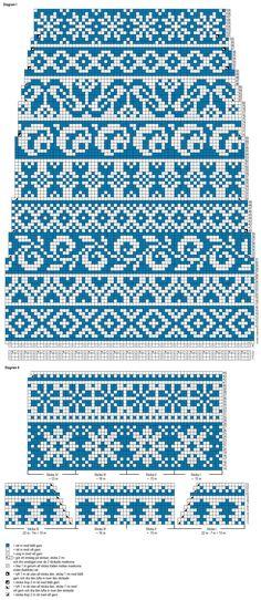 Jacquardstickade Finlandiasockor Novita Nalle | Novita knits
