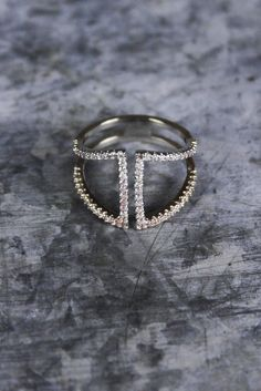 Come Together Rhinestone Ring