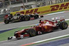 Fernando Alonso, Ferrari, Bahrain, 2012