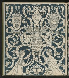The Song Of Sixpence Picture Book, Walter Crane, 1909 (page de garde)