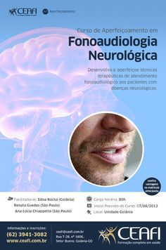 "Arte ""Fonoaudiologia Neurológica"" para o CEAFI."