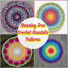 I have rounded up the most beautiful and stunning free crochet mandala patterns for your inspiration. All of these patterns are superb eye-popping and really interesting that will keep you beyond the mandalas meanings near to you.